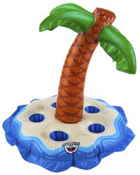 BigMouth Inc. Drink Holder - Island with Palm Trees