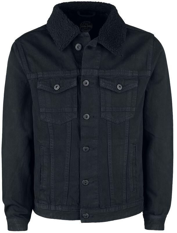 Denim Jacket Keep Black