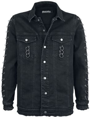 veste ringer doomsday veste en jean large. Black Bedroom Furniture Sets. Home Design Ideas