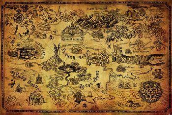Hyrule Map