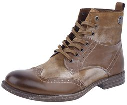 Vintage Lace-Up Boots