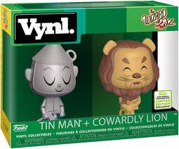 The Wizard Of Oz ECCC 2019 - Tin Man + Cowardly Lion (VYNL) Vinylfiguur