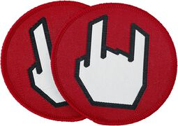 EMP Rockhand Patch - Pack de 2