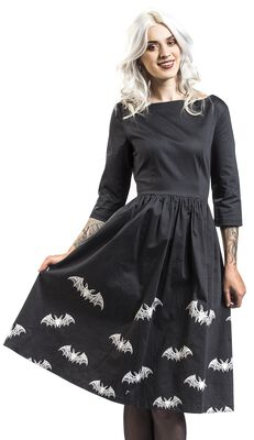 Lace Bat Dress