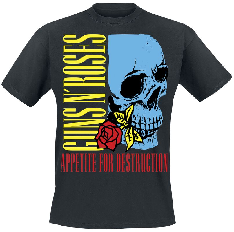 Appetite For Destruction Rose Skull