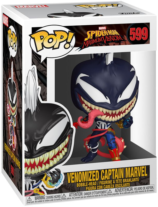 Maximum Venom - Venomized Captain Marvel Vinylfiguur 599