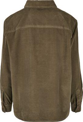 Ladies Corduroy Oversized Shirt