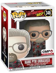 Ant-Man and The Wasp Hank Pym unmasked - Vinylfiguur 346