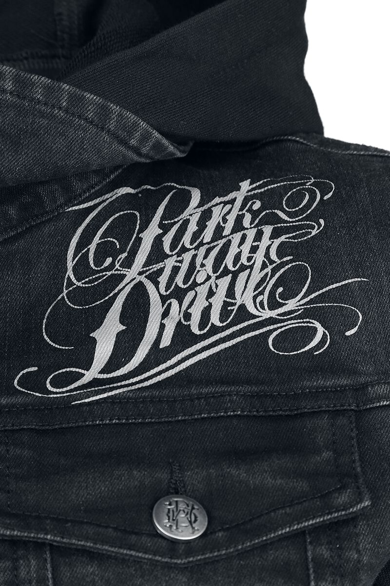 emp signature collection parkway drive veste en jean large. Black Bedroom Furniture Sets. Home Design Ideas