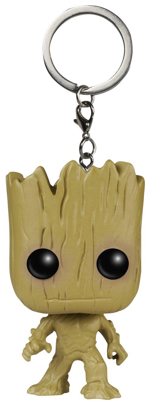 Groot Les Gardiens De La Galaxie Porte Clefs Pocket Pop Large