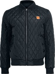 Diamond Quilt Nylon Jacket