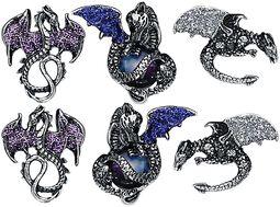 Boucles D'Oreille Dragons