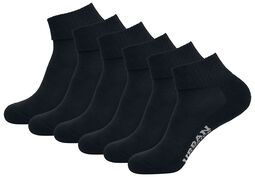 High Sneaker Socks 6-Pack