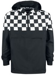 Checked Pull Over Jacket