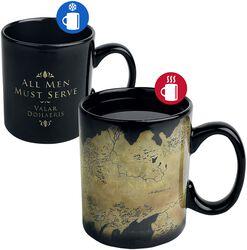 Westeros Map - Heat Change Mug