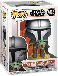 The Mandalorian - The Mandalorian With The Child Vinylfiguur 402