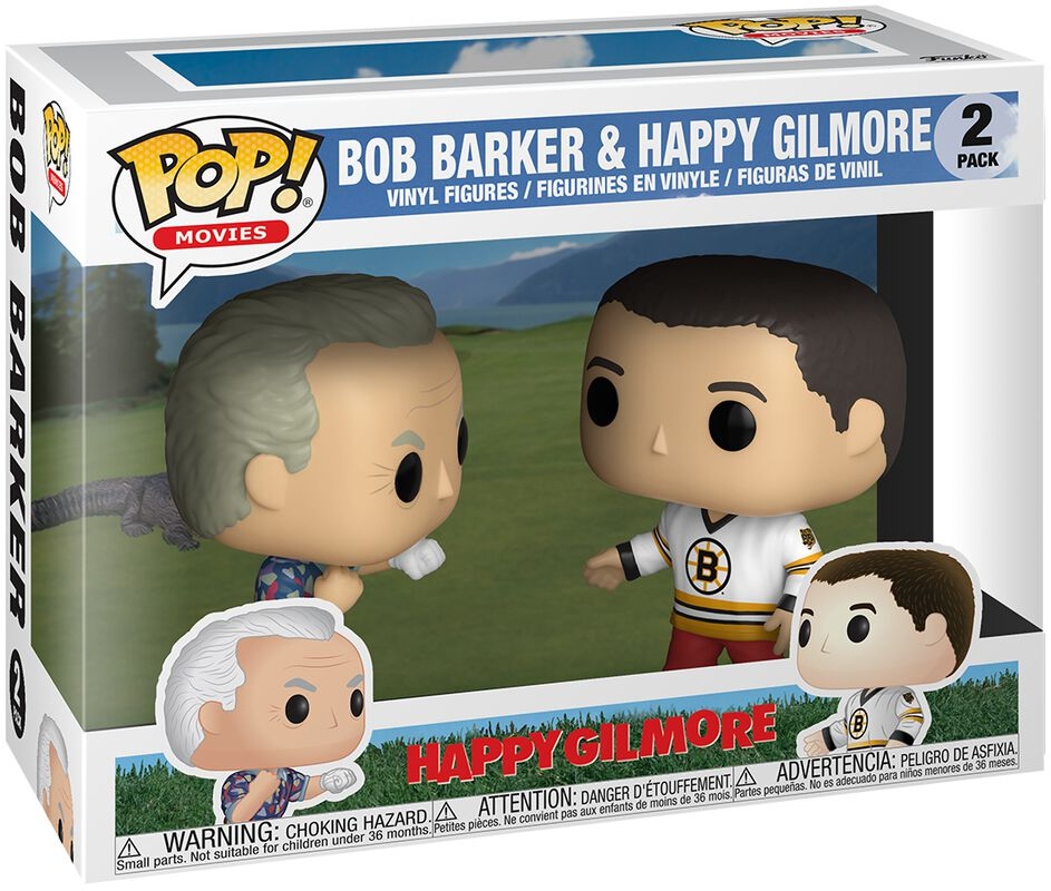 Happy Gilmore Bob Barker & Happy Gilmore - Funko Pop!