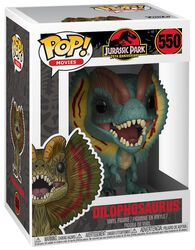 Jurassic Park - Dilophosaurus (Éd. Chase Possible) - Funko Pop! n°550