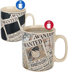 Wanted - Mug Thermoréactif
