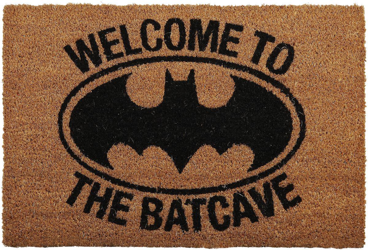 Vaak Welcome to the Batcave   Batman Deurmat   Large DF57