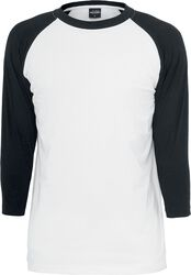 T-Shirt Manches 3/4 Contrast Raglan