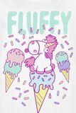 Fluffy Unicorn - Ice
