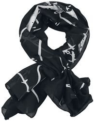 Barbed Wire Skull Scarf