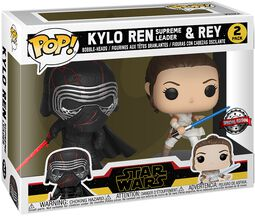 The Rise of Skywalker - Kylo Ren (Supreme Leader) & Rey Vinyl Figure 2-Pack