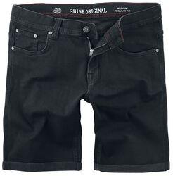 Regular Fit Denim Shorts
