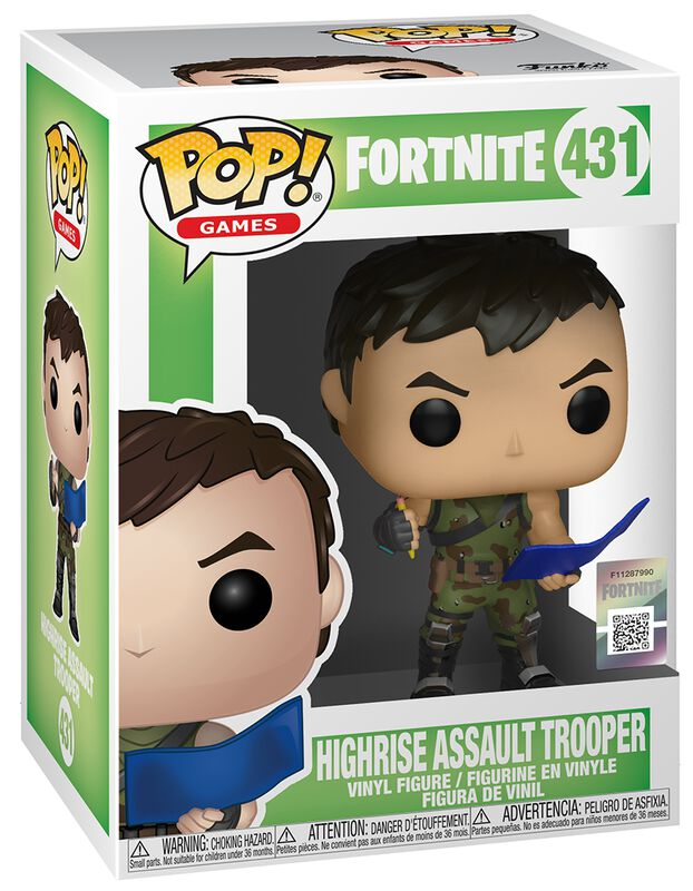 Highrise Assault Trooper Vinylfiguur 431