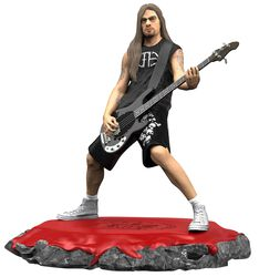 Rex Brown Rock Iconz Statue