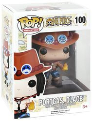 Figurine En Vinyle Portgas D. Ace No. 100