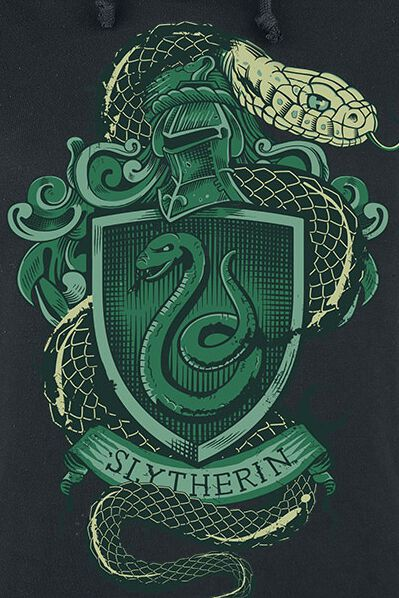 Slytherin | Harry Potter Trui met capuchon | Large