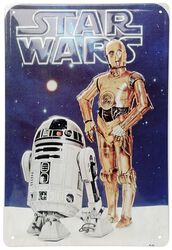 R2-D2 and C3PO