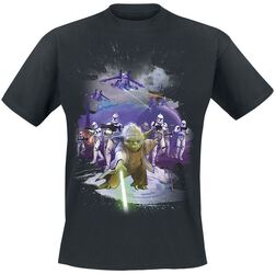 Yoda Retro Poster