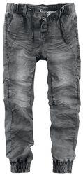 Pantalon En Jersey Aspect Jean