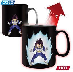 Z - Vegeta - Heat Change Mug