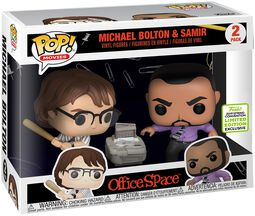 ECCC 2019 - Office Space Michael Bolton and Samir (2 Pack) Vinylfiguur