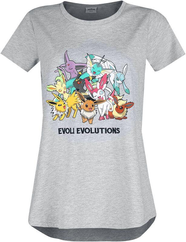 Évoli - Évolutions