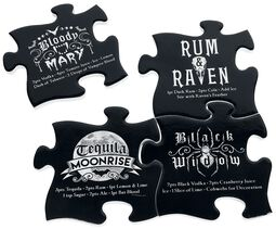 Coaster Set - Gothic Cocktail