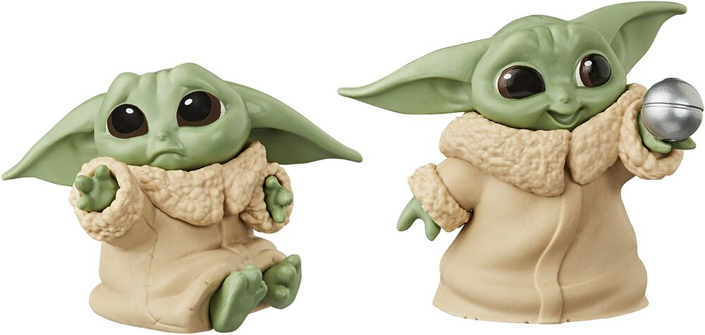 The Mandalorian - L'Enfant (Baby Yoda) - Lot de 2