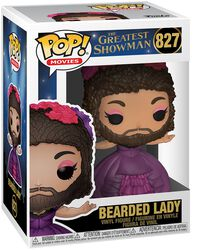 Greatest Showman Bearded Lady Vinylfiguur 827