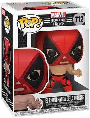 El Chimichanga De La Muerte - Marvel Luchadores - Vinyl Figur 712