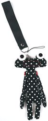 Dotted Voodoo Doll Keyring