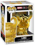 Marvel Studios 10 - Loki (Chrome) Vinylfiguur 376