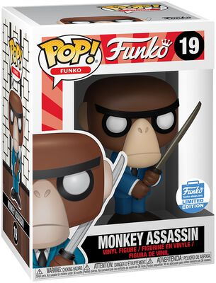 Fantastik Plastik - Monkey Assassin (Funko Shop Europe) Vinylfiguur 19
