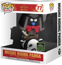 ECCC 2020 - Mushu Riding Panda (POP Rides) Vinylfiguur 77