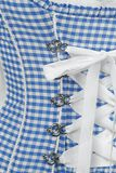 Traditional bodice with integrated push-up
