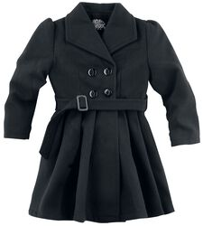 Manteau Trapèze Black Vintage Pour Enfant