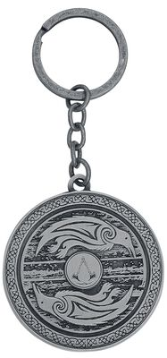 Valhalla - Shield 3D Metal Keychain